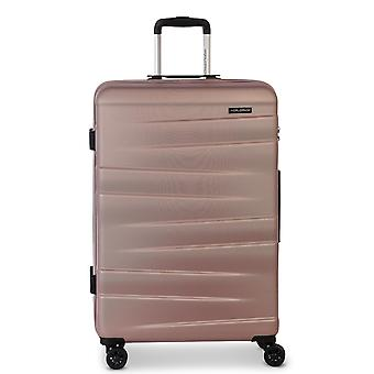 Fabrizio Worldpack Montreal Women's Trolley M, 4 roues, 65 cm, 61 L, rose