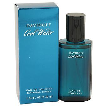 Kallt vatten Eau De Toilette Spray av Davidoff 1,35 oz Eau De Toilette Spray