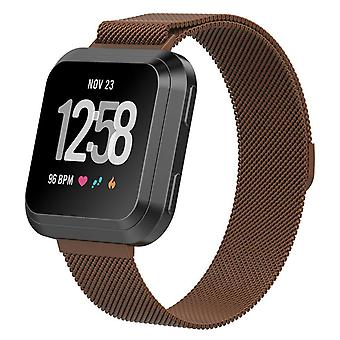 For Fitbit Versa 2/Versa/LITE Strap Milanese Wrist Band Stainless Steel Magnetic[Small (5.5