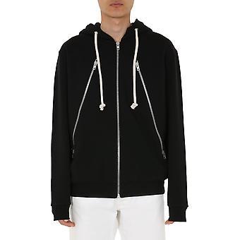 Maison Margiela S50hg0032s25443900 Men's Black Cotton Sweatshirt