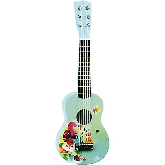 Vilac Baby Blue Woodland Guitar