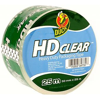 Duck Tape Heavy Duty Clear Packaging Tape
