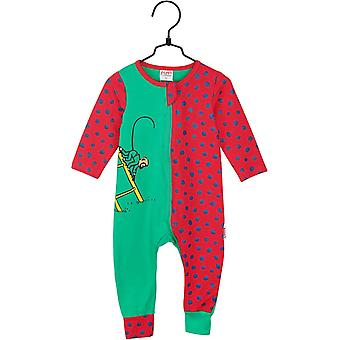 Pippi Langstrumpf Pyjamas Herr Nilsson (rot/grün)