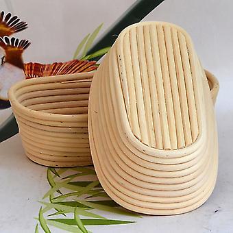 Natural rattan bread fermentation basket long dough proofing loaf mold