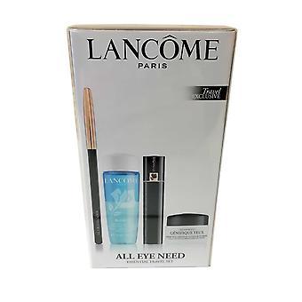 Lancome Všetky eye Need Set-Hynose Mascara Black Bi Facil, Crayon Khol, Genifique