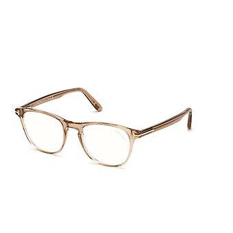 Tom Ford TF5625-B 045 Shiny Light Brown Glasses
