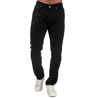 Men's Replay Grover Straight Fit Jeans in Black