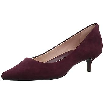 Taryn Rose Womens Naomi Leather Pointed Toe Classic Pumps