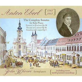 Anton Eberl - Anton Eberl: The Complete Sonatas for Solo Piano [CD] USA import