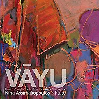 Nina Assimakopoulos - Vayu-Multi-Cultural Flute Solos From the 21st [CD] USA import