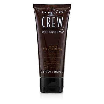 American Crew Men matte styling creme (médio Hold Cream sem brilho) 100ml/3.3 oz