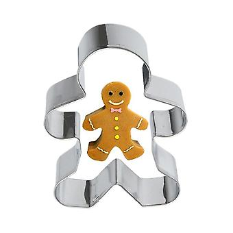 High Quality Metal Alloy Ginger Bread Men Shaped Holiday Used For Baking Cupcake/jelly/chocolate/candle/biscuits