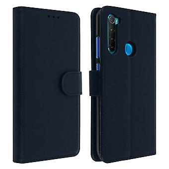 Xiaomi Redmi Note 8 Folio Case with Wallet Function - Blue