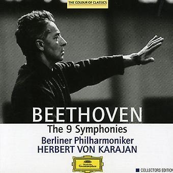 Karajan/Berliner Philharmoniker - Beethoven: The 9 symfonier [CD] USA import