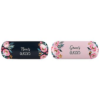 Something Different Nans/Grans Blossom And Bee Collection Glasses Case