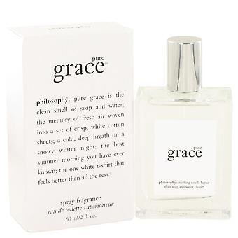 Pure grace eau de toilette spray por filosofía 502628 60 ml