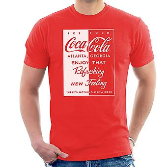 Coca Cola Refreshing New Feeling Men's T-Shirt