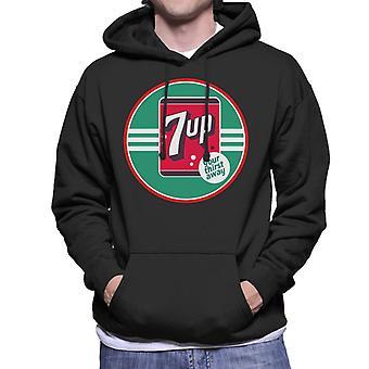 7up 40s Logo Your Thirst Away Men's Hooded Sweatshirt