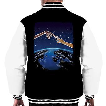 E.T. Earth Movie Poster Men's Varsity Jacket