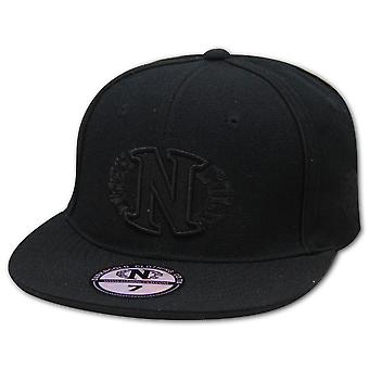Darkncold Egg Logo Fitted Baseball Cap Black