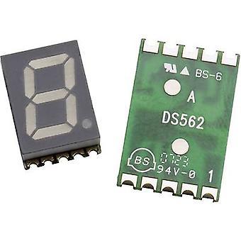 Broadcom Seven-segment display Orange 10 mm 2.1 V No. of digits: 1 HDSM-433L