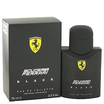 Ferrari Scuderia Black Eau De Toilette Spray por Ferrari 75 ML