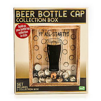 Beer Bottle Top Collection Box