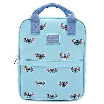 Loungefly Lilo And Stitch Stitch Embroidered Canvas Mini Backpack