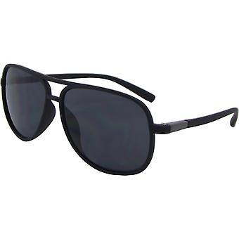 Sunglasses Unisex Pilot Kat. 3 matt black/grey (8175-A)