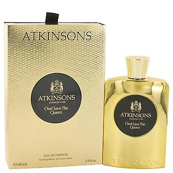 Oud Save The Queen Eau De Parfum Spray By Atkinsons 3.3 oz Eau De Parfum Spray