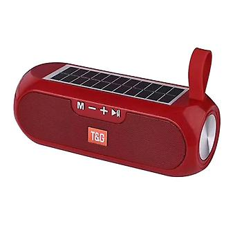 Waterproof, Bluetooth And Solar Power Speaker For Outdoor