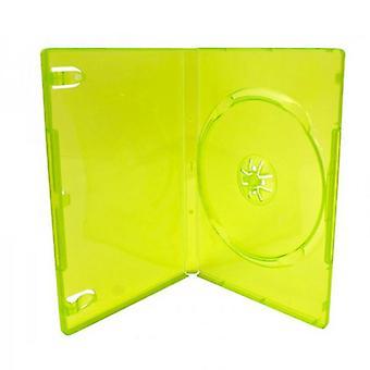 Caz de joc pentru Microsoft Xbox 360 compatibil de înlocuire de vânzare cu amănuntul joc cartuș caz - valoare 25 ambalaj verde | zedlabz