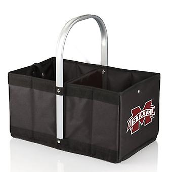 Urban Basket - Black (Mississippi State Bulldogs) Digital Print