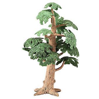 מיניאטורי פיות גן אורן עצים מיני צמחים בית בובות אביזרי תפאורה