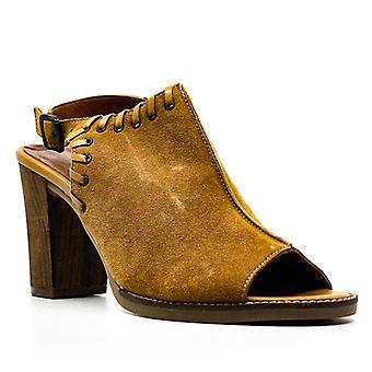 Bella Vita | Ora-Italy Suede Block Heel Sandals