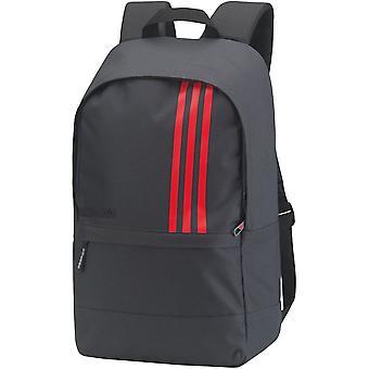 Adidas Mens 3-Stripes Small Reflective Laptop Backpack Rucksack