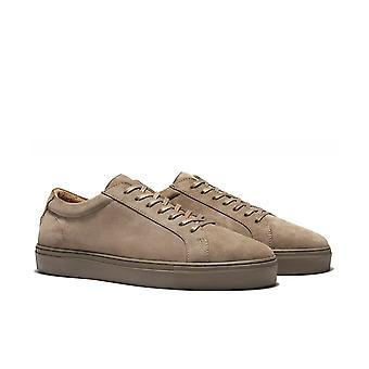 Uniform Standard Series 1 Triple Taupe Suede Trainers