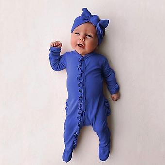 Baby / Romper Playsuits Sleepwear Pyjamas mit Stirnband