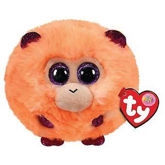 TY Puffies - Coconut the Monkey Peluche Toy