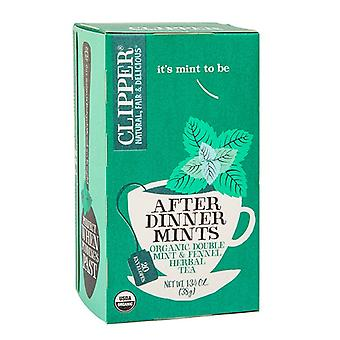 Clipper Dopo Cena Mints Tè biologico