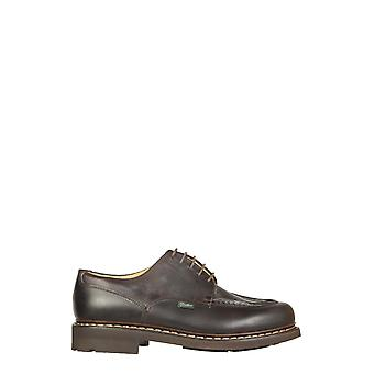 Paraboot 710707 Men's Brown Leather Lace-up Shoes
