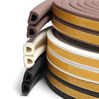 Self Adhesive D P E Type Doors And For Windows Foam Seal Strip Rubber