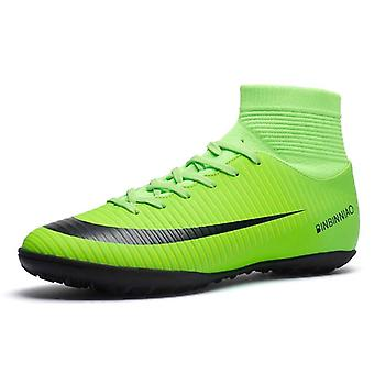Football Boots Shoes Futsal Soccer Cleats Teenager Ankle-high Tops Kids Indoor