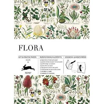 Flora Gift  Creative Paper Book Vol 85 Multilingual Edition Gift  creative papers 85