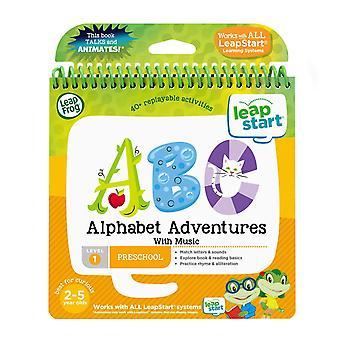 Leapfrog leapstart berçário livro de aventuras do alfabeto