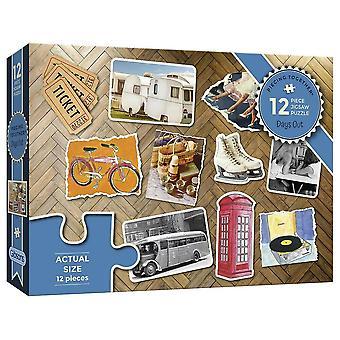 Gibsons Jigsaw Puzzel Days Out 12 stuks Piecing Together Dementie Range