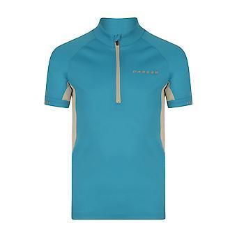 Dare 2B Childrens/Kids Protege II Short Sleeve Half Zip Cycling Jersey