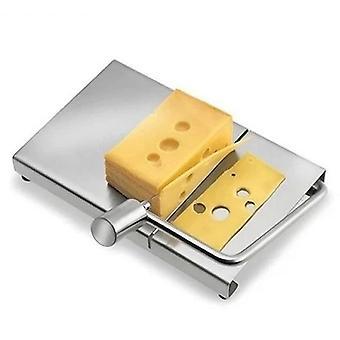 Neue Edelstahl eco-friendly Cheese Slicer - Butter Schneidebrett Messer