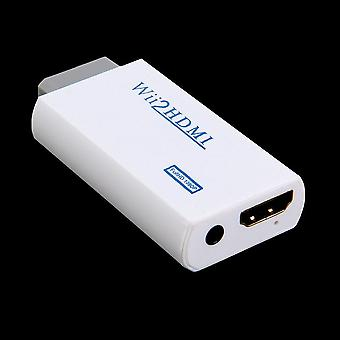 Wii Hassle Free Plug And Play For Wii To Hdmi 1080p Converter Adapter
