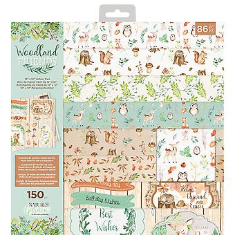 Crafter's Companion Woodland Friends 12x12 Inch Vellum Pad